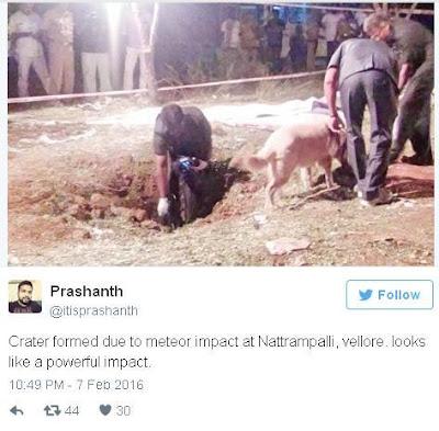 Meteorit Telah Menewaskan Seseorang di India