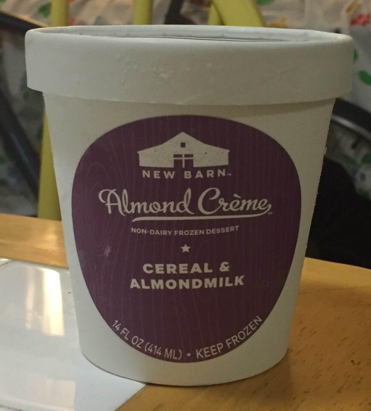 New Barn Almond Creme Cereal And Milk