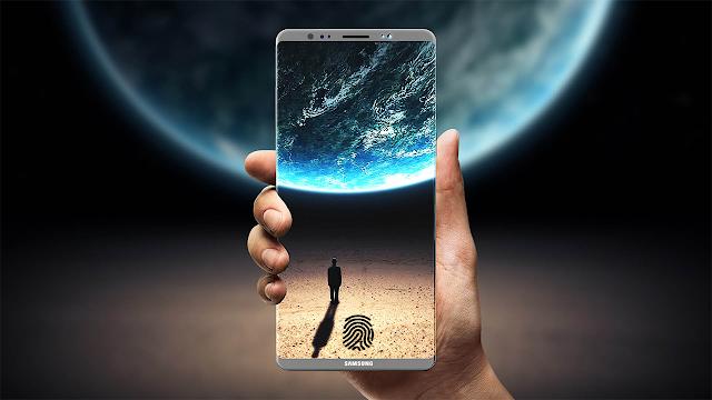Samsung a brevetat un scanner de amprente sub ecran pe care îl va folosi pe Galaxy S9