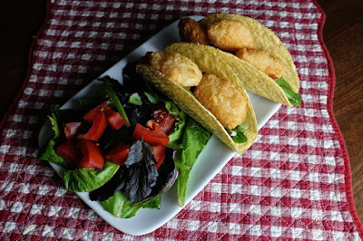 Shrimp Tacos: photo by Cliff Hutson