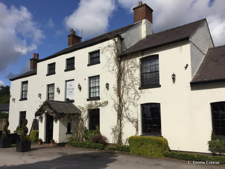 A delicious staycation: The Vicarage in Cheshire