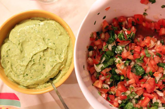 Vegan Taco Cleanse, Tranquility Sauce, Pico de Gallo