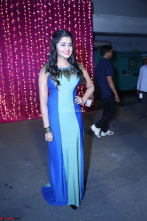 Anupama Parameswaran in lovely shaded gown ~  Exclusive 60.JPG