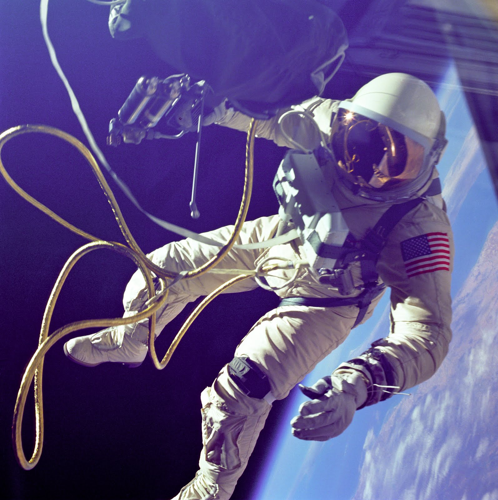 Edward White Gemini 4 EVA Spacewalk