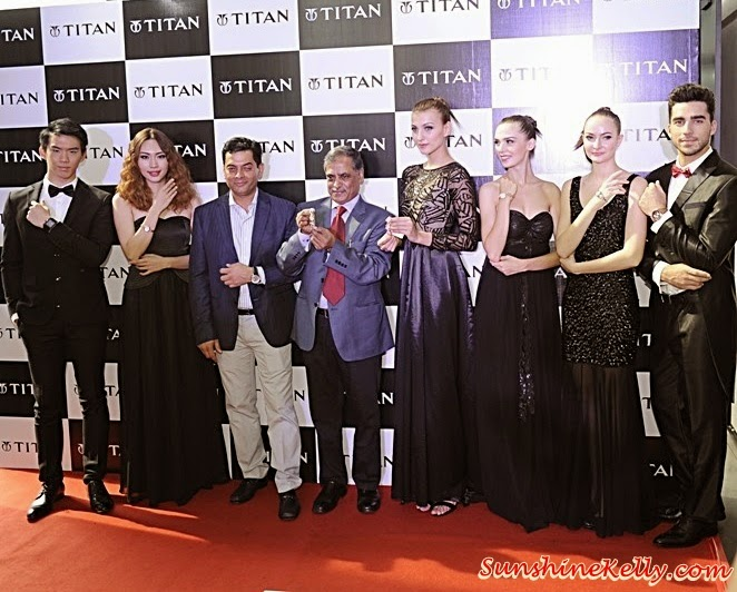 TITAN Fall Winter 2014 Collection, Titan 'Garden of Eden' for women, Titan HTSE for men, Titan Watches, Titan, Cantaloupe, Troika Sky Dining