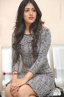 Actress Chandini Chowdary Pos in Short Dress at Howrah Bridge Movie Press Meet  0112.JPG