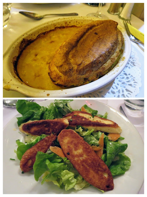 What to eat in Lyon France: Quenelle at Le Marronnier