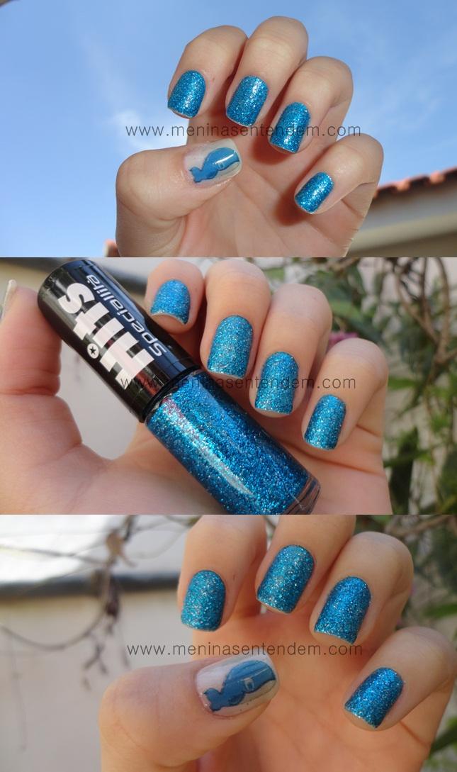 glitter forte azul da hits