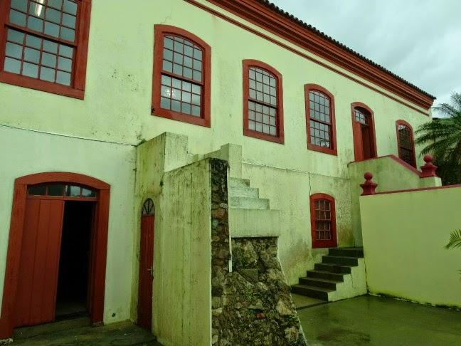 Solar dos Ferreira de Mello, construído no  século XIX, sedia hoje o Museu Histórico