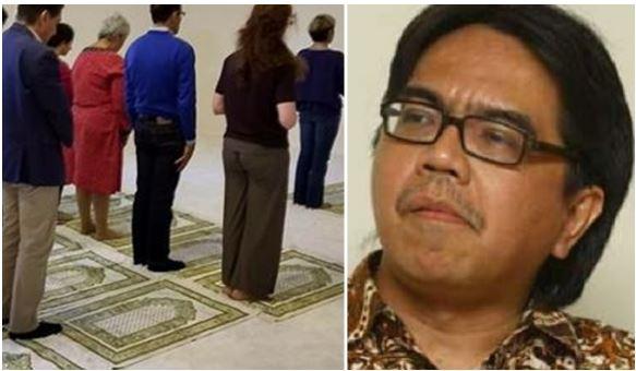 """Ade Armando Bangga """"Masjid"""" Ini Perbolehkan Pria dan Wanita Bercampur dalam Satu Shaf"""