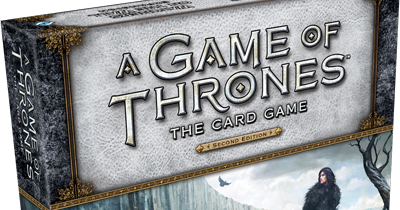 A Game of Thrones the Card Game Watchers on the Wall deluxe expansion unboxing