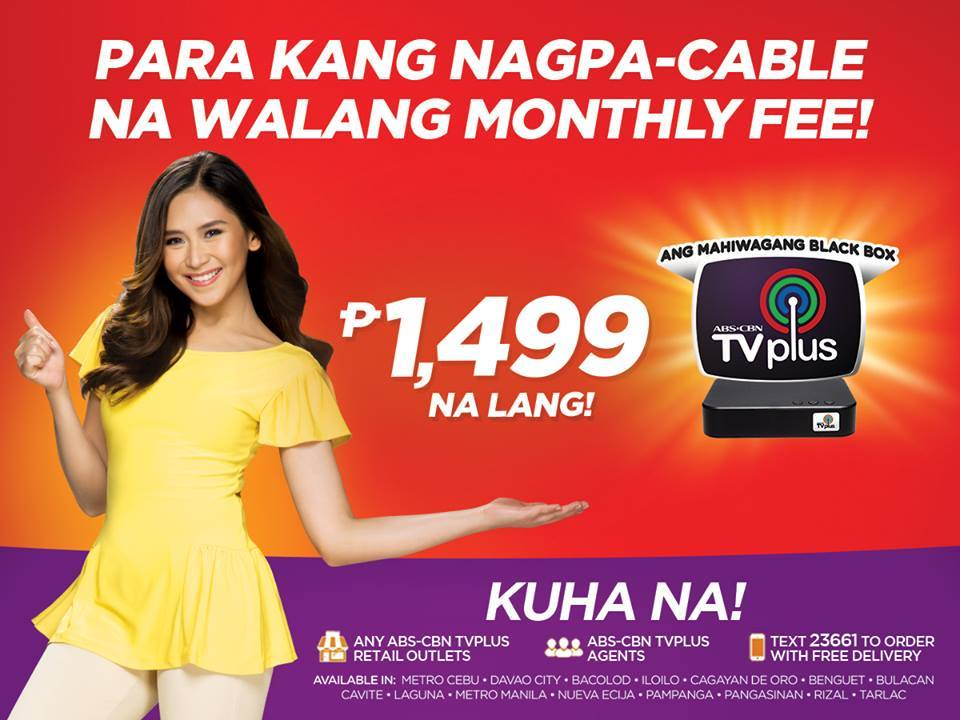 ABS-CBN TVplus price drops to only Php1499