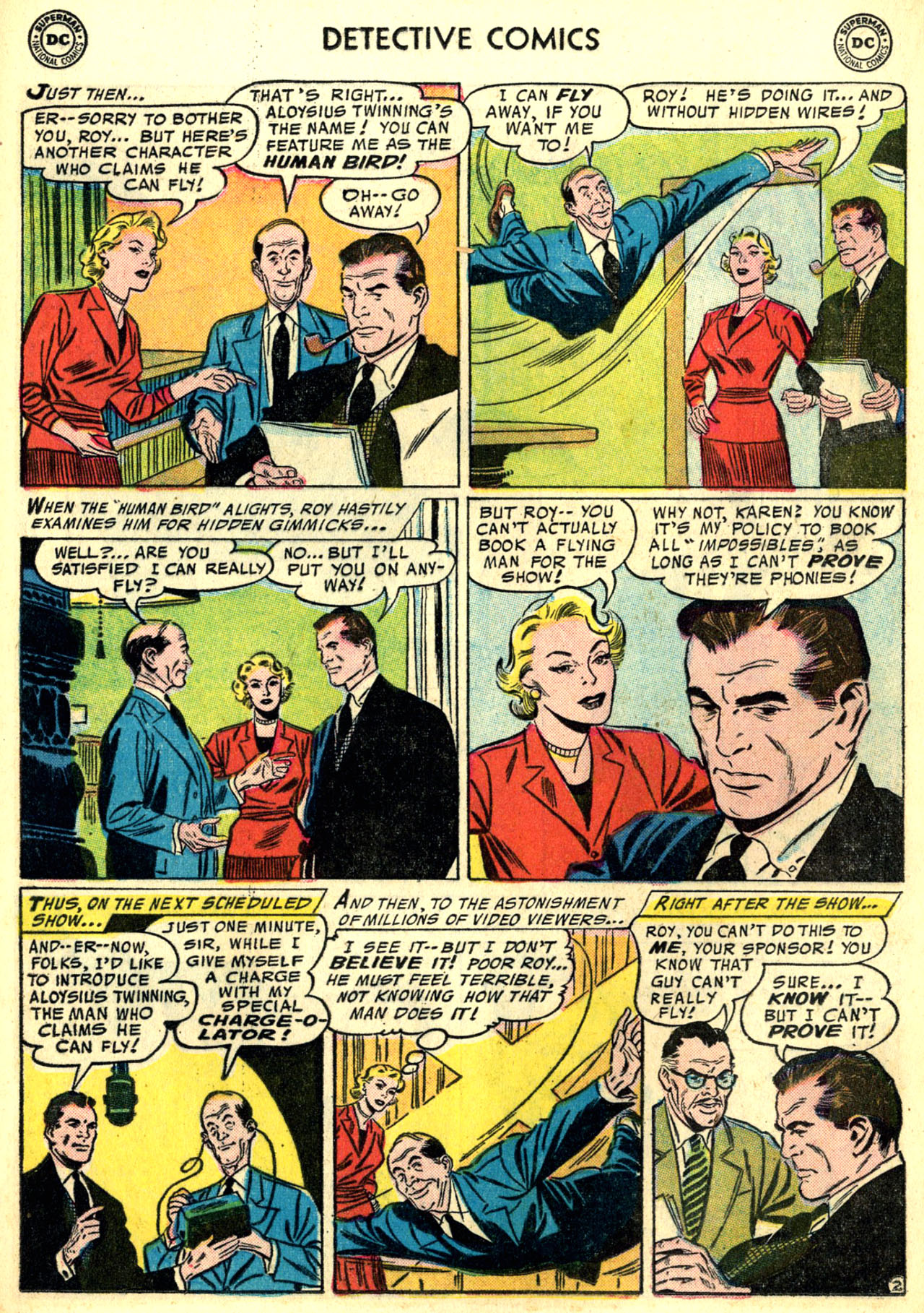 Read online Detective Comics (1937) comic -  Issue #240 - 16