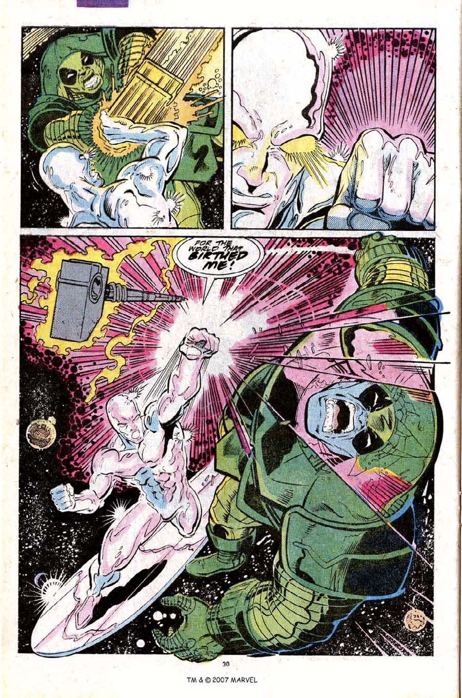 Read online Silver Surfer (1987) comic -  Issue #25 - 32