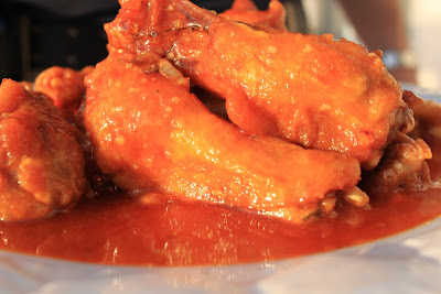 golden sauce wings