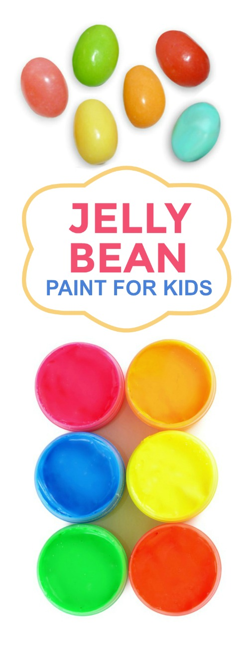 Jelly Bean Paint for Kids | Growing A Jeweled Rose