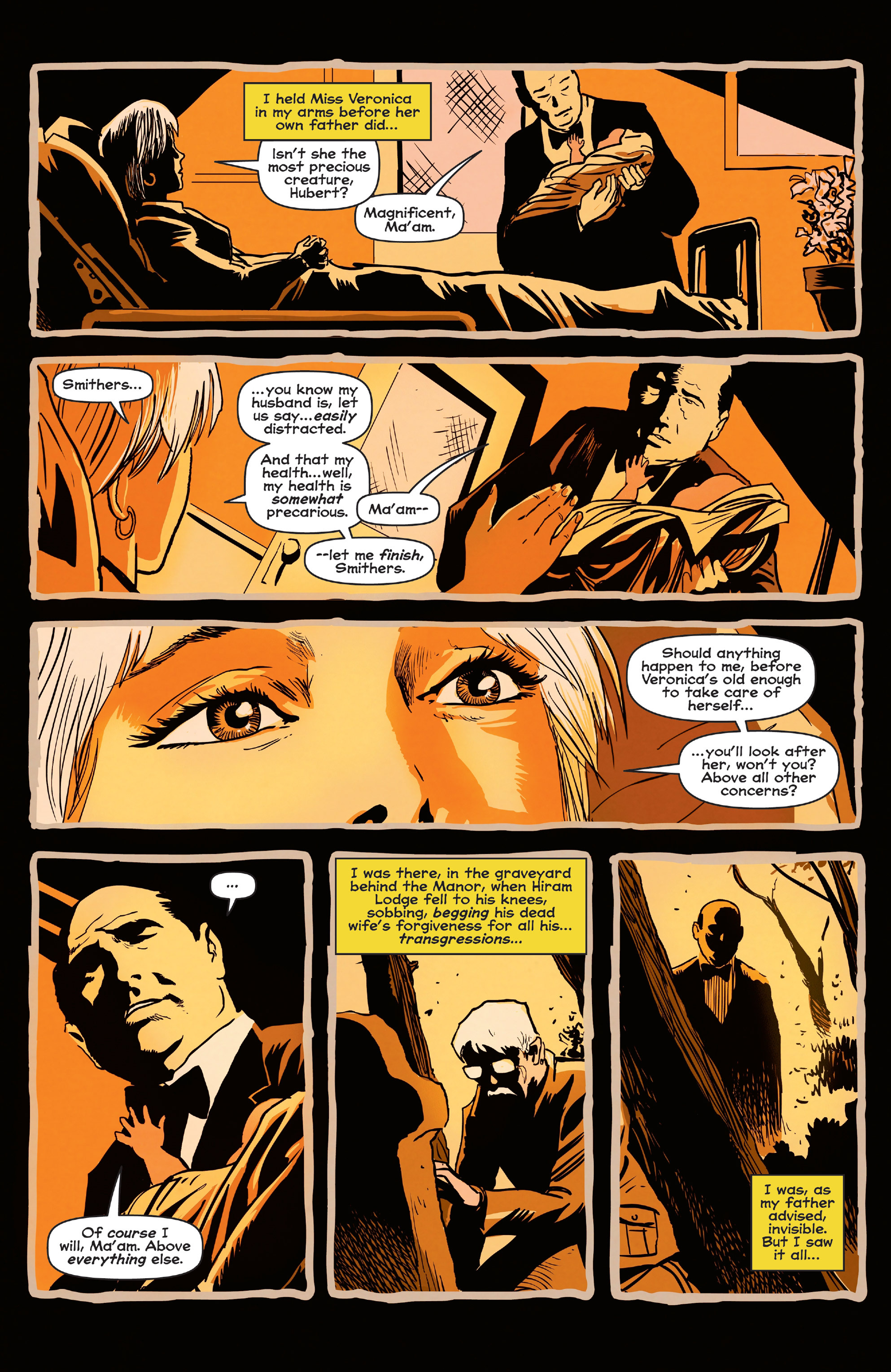 Read online Afterlife with Archie comic -  Issue #5 - 6