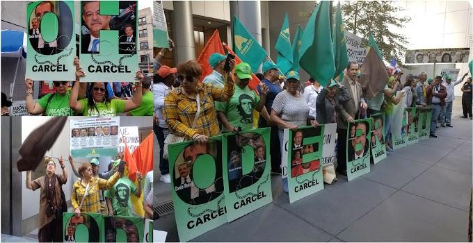Consignas contra corruptos de ODEBRECHT retumban en predios de la ONU en Nueva York