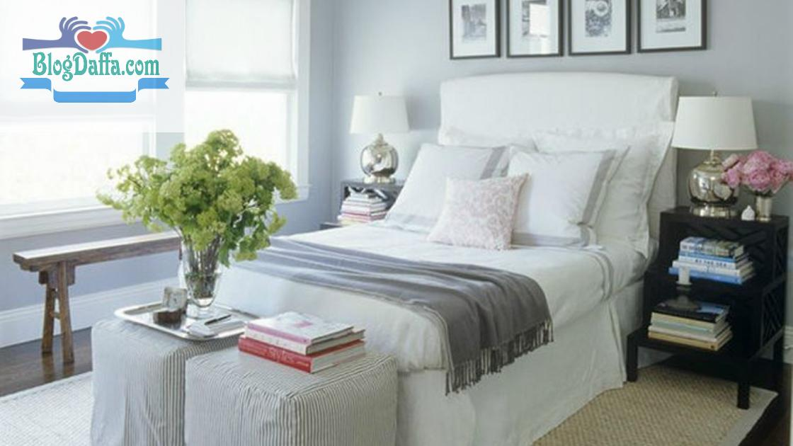 Off-White, Warna Cat Kamar Tidur yang Menenangkan