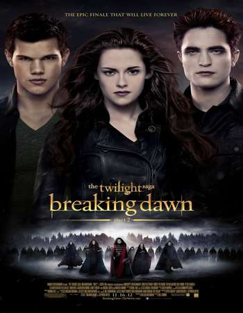 Poster Of The Twilight Saga Breaking Dawn - Part 2 2012 Hindi Dual Audio 500MB BluRay 720p HEVC Free Download Watch Online downloadhub.in