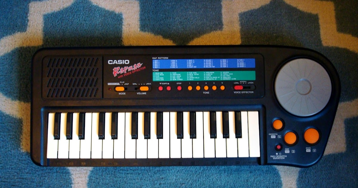 MATRIXSYNTH: Free Casio Rapman Sample Pack