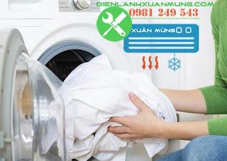 Các hướng dẫn về cách giặt quần áo sạch bằng máy giặt Xuân Mừng Điện Lạnh