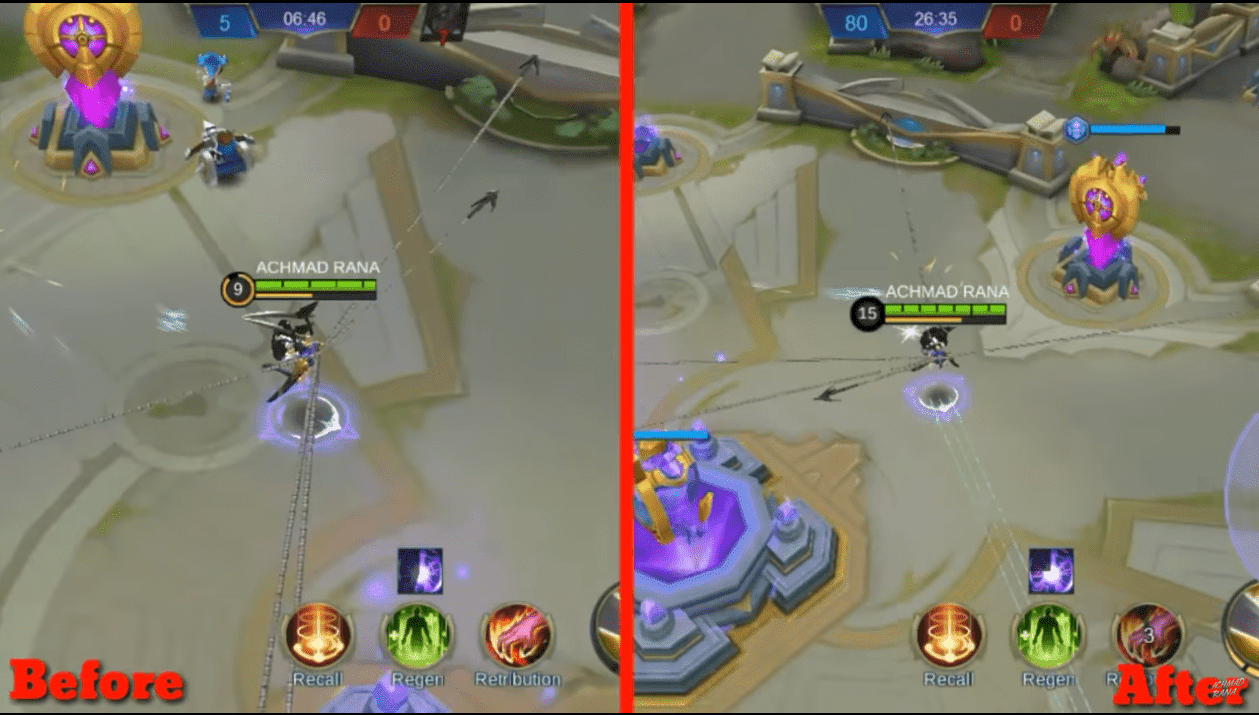Drone Maps View di Mobile Legends