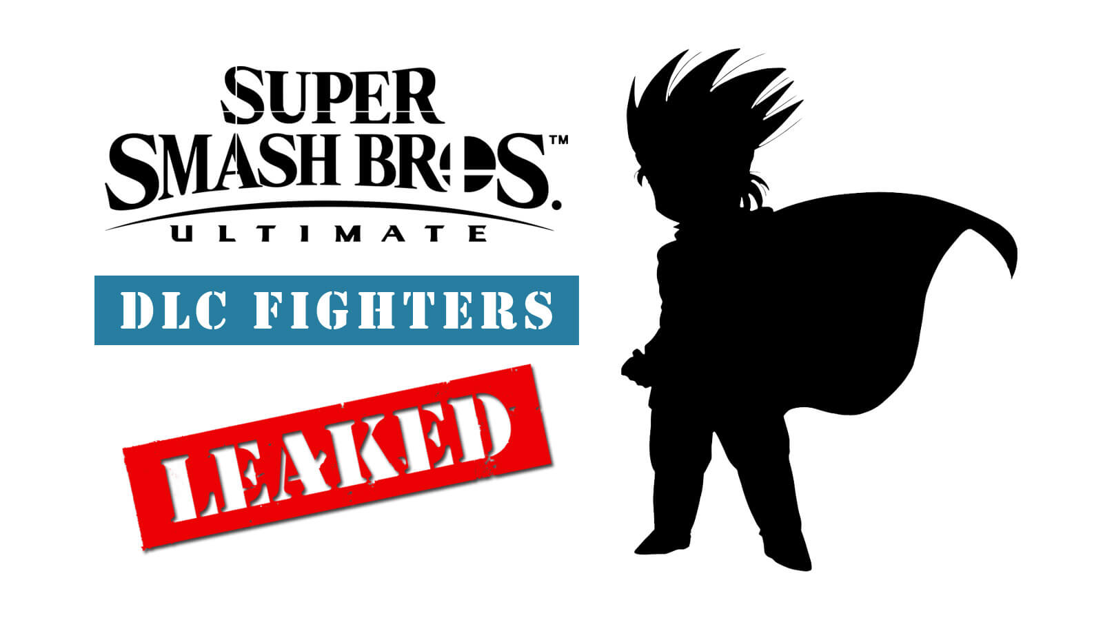 Super Smash Bros  Ultimate DLC Fighters Leaked - Gameslaught