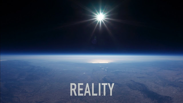 Imagem tirada de filmagem em balão de altitude elevada