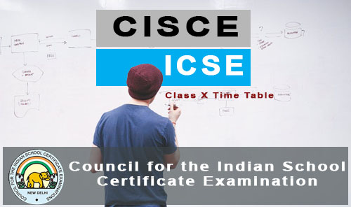 icse exam time table 2018 - cisce-org download 10th date sheet pdf