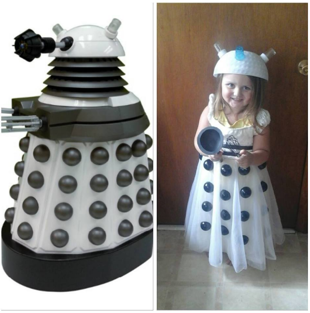 Above is the image of the kids Dalek costume that I put together for my daughter!  sc 1 st  Freelance Lady & Freelance Lady: Kids 10th Doctor Costume Tutorial / Shopping Guide