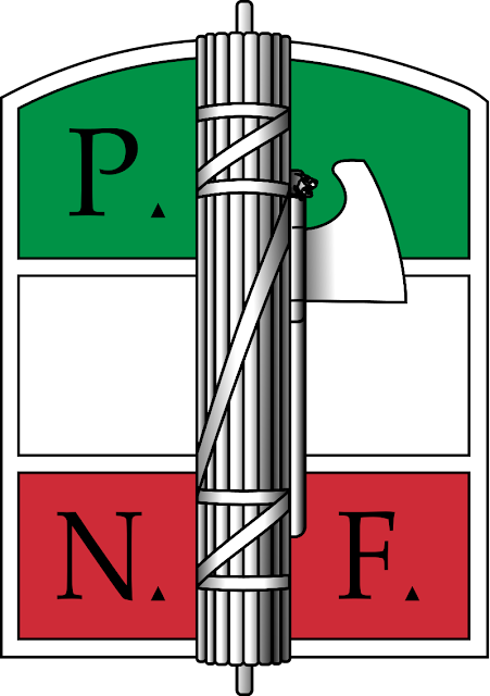 PNF créé en 1921, logo