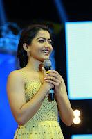 Rashmika Mandanna at Sarileru Neekevvaru Pre Release Event HeyAndhra.com