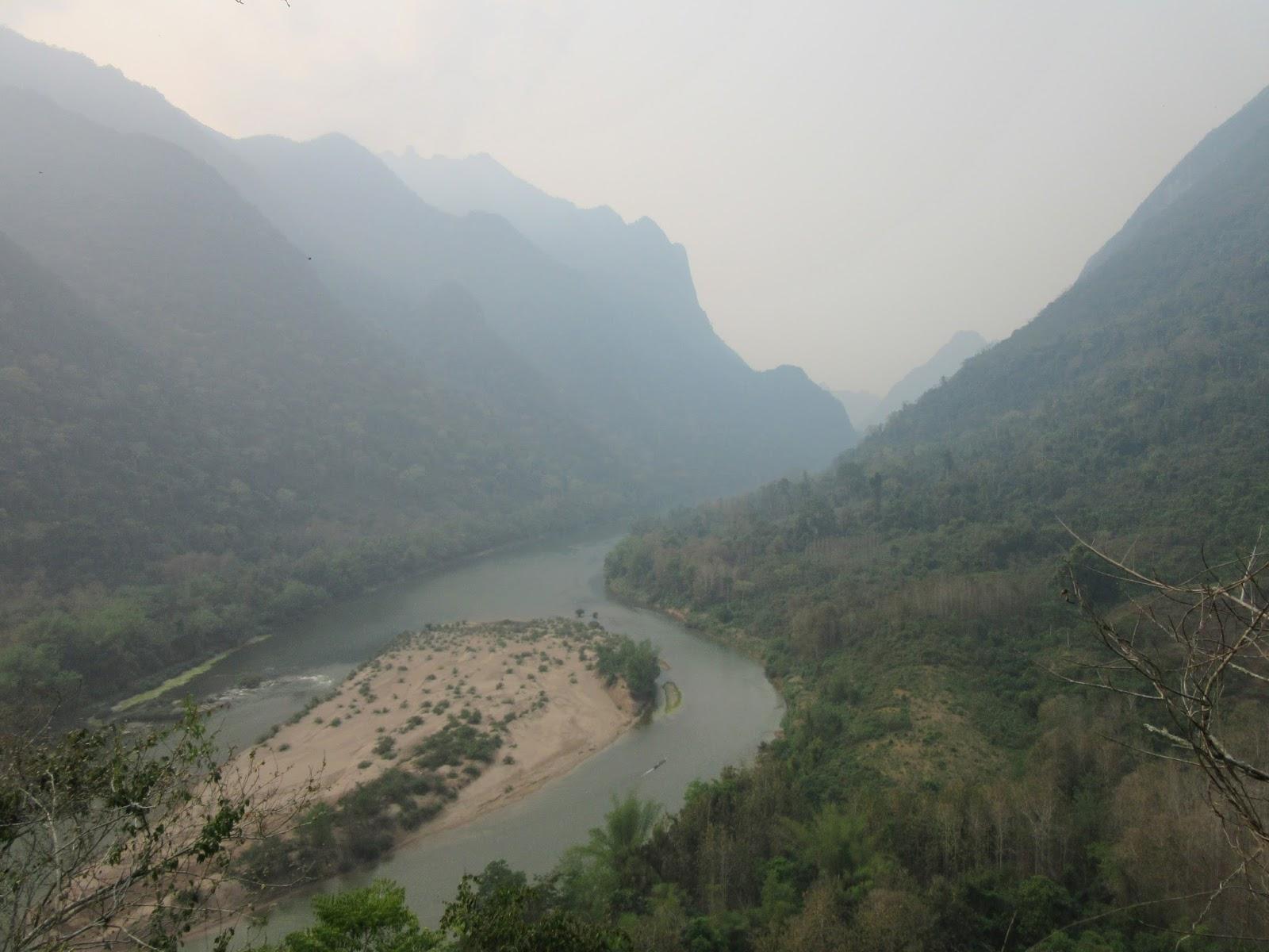 Mirador de Muang Ngoi, Laos
