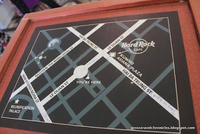 Street Map Saigon