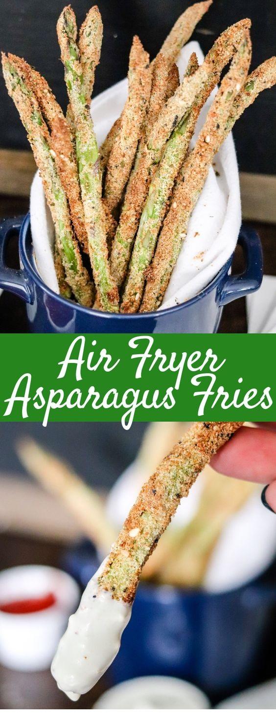 Air Fryer Asparagus Fries