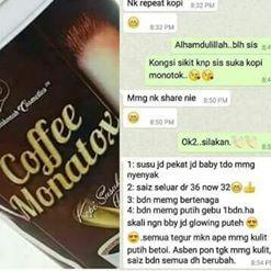 Testimoni Monatox Coffee