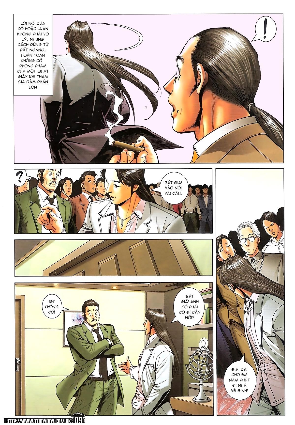 Người Trong Giang Hồ - Ngũ Hổ qui thiên - Chapter 1718: Đàm phán siêu cấp 4 - Pic 8