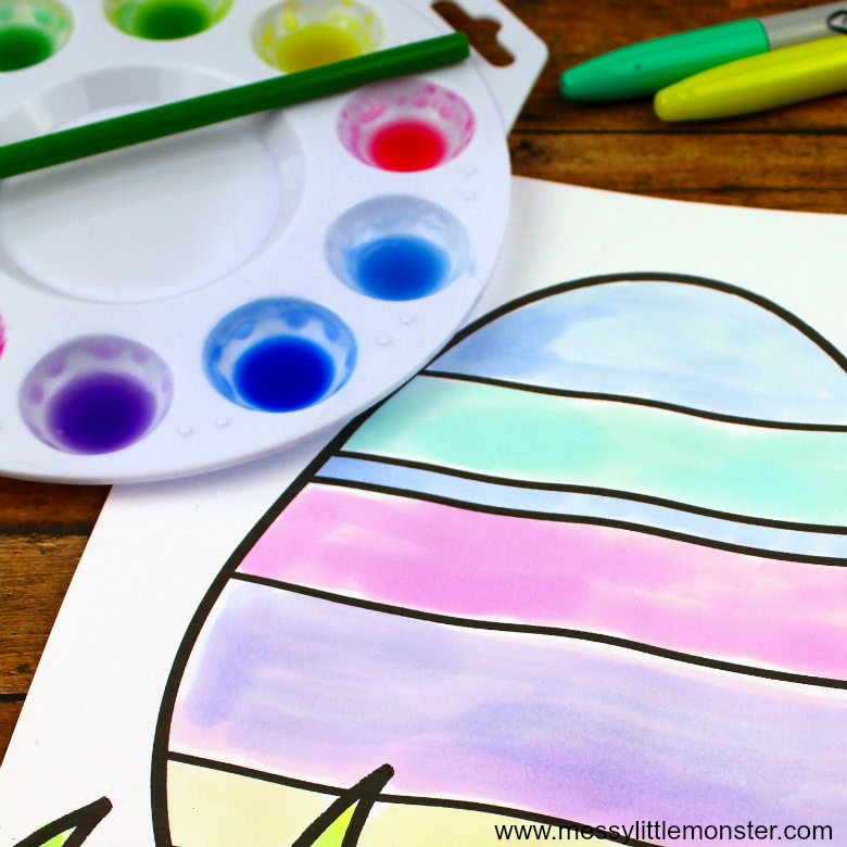 homemade watercolor paints for kids