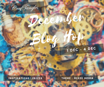 Grudniowy Blog Hop w CrafTangles/ December Blog Hop in CrafTangles