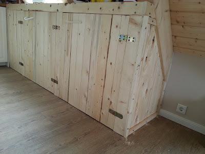 DIY Handmade Upcycling  Holz Holzbau builtwithBosch Bosch Wood Woodworking Woodwork Eigenbau Fachwerk timbering