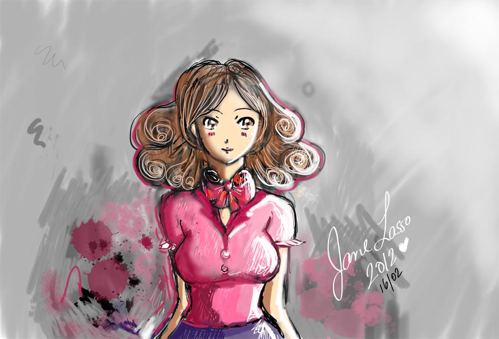 Dibujos Y Sketches De Jane Lasso: Febrero 2012