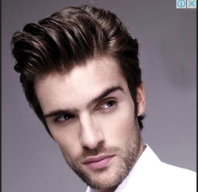 model rambut pendek pria untuk wajah lonjong