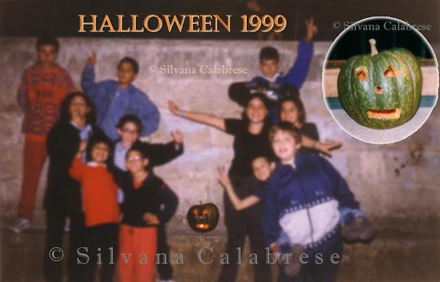 Halloween 1999 intaglio zucca jack o lantern Silvana Calabrese - Blog
