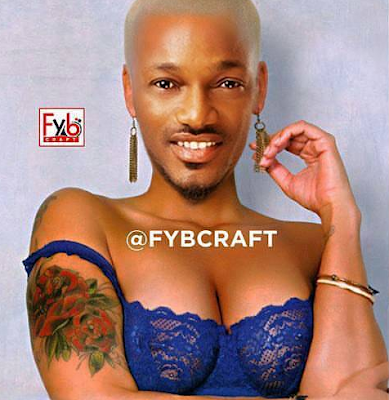 Who did this to 2face? C
