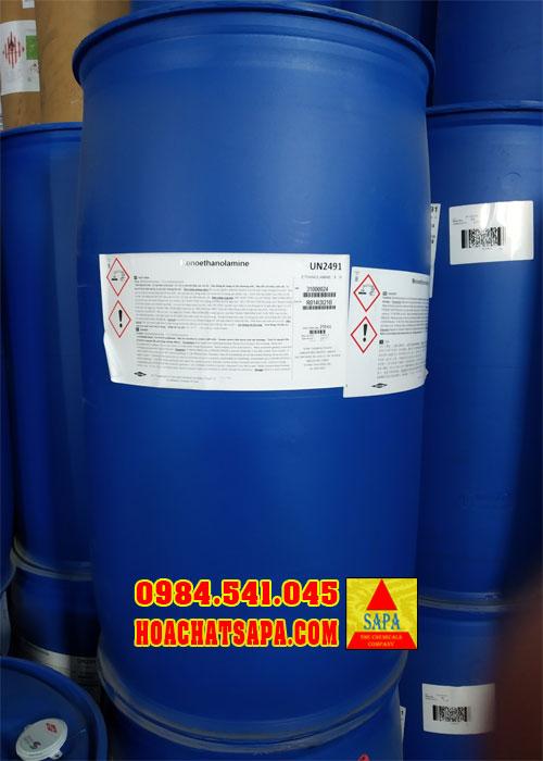 Hóa Chất SAPA | Dung môi công nghiệp Monoethanolamine MEA
