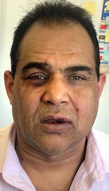 Mohammed Riaz attacked at Meat Hut, Little Horton Lane, Bradford