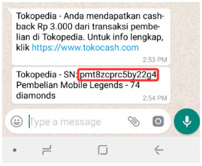 cara membeli code voucher mobile legends