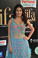 Amyra Dastur in Flower Print Choli Transparent Chunni at IIFA Utsavam Awards 10.JPG