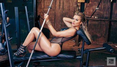 Khloe Kardashian desata su lado más sexy en una campaña (Fotos+Vídeo)